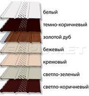 Софит потолочный сайдинг, купить потолочный софит сайдинг, соффит монтаж