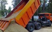 Песок россыпью с доставкой по городу и области