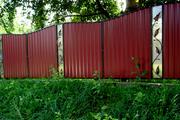 Забор из профнастила недорого в Одессе от завода.